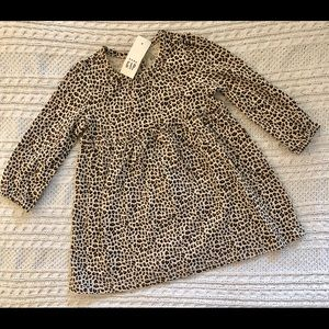 NEW Baby Gap leopard print dress
